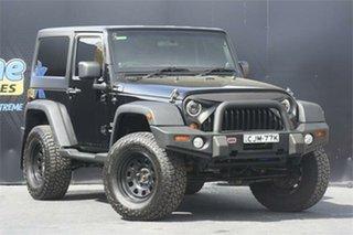2012 Jeep Wrangler JK MY2013 Unlimited Sport Black 6 Speed Manual Softtop.