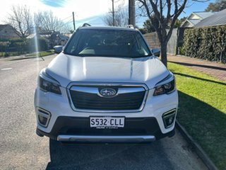 2021 Subaru Forester S5 MY21 2.5i-S CVT AWD Crystal White Pearl 7 Speed Constant Variable Wagon.