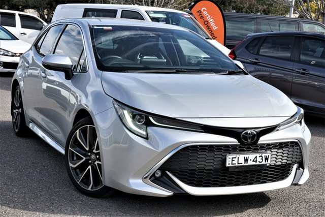 Used Toyota Corolla Mzea12R ZR Phillip, 2018 Toyota Corolla Mzea12R ZR Silver 10 Speed Constant Variable Hatchback