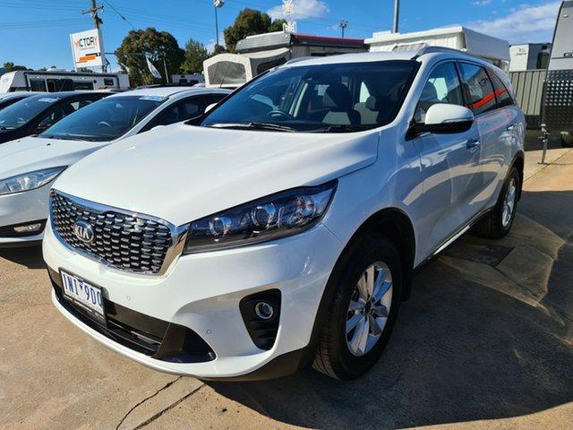 Used Kia Sorento UM MY19 SI Epsom, 2018 Kia Sorento UM MY19 SI White 8 Speed Sports Automatic Wagon