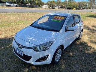 2012 Hyundai i20 PB MY12 Active White 4 Speed Automatic Hatchback.