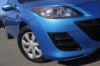 2011 Mazda 3 BL10F1 MY10 Neo Activematic Celestial Blue 5 Speed Sports Automatic Sedan.