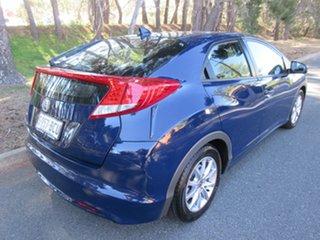 2013 Honda Civic 9th Gen MY13 VTi-S Blue 6 Speed Manual Hatchback.
