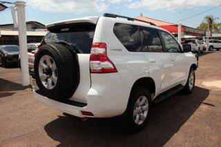 2017 Toyota Landcruiser Prado GDJ150R GXL Glacier White 6 Speed Sports Automatic Wagon