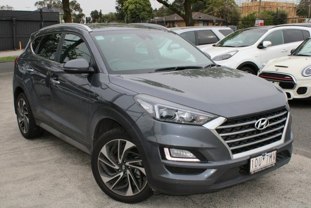 Used Hyundai Tucson TLE3 MY19 Special Edition D-CT AWD Ferntree Gully, 2018 Hyundai Tucson TLE3 MY19 Special Edition D-CT AWD Grey 7 Speed Sports Automatic Dual Clutch