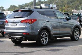 2012 Hyundai Santa Fe CM MY12 Elite Silver 6 Speed Sports Automatic Wagon.
