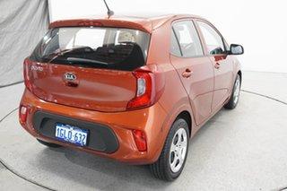 2018 Kia Picanto JA MY18 S Orange 4 Speed Automatic Hatchback