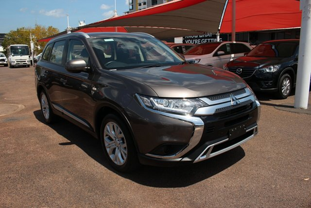 Used Mitsubishi Outlander ZL MY19 ES AWD ADAS Darwin, 2019 Mitsubishi Outlander ZL MY19 ES AWD ADAS Volcanic Bronze 6 Speed Continuous Variable Wagon