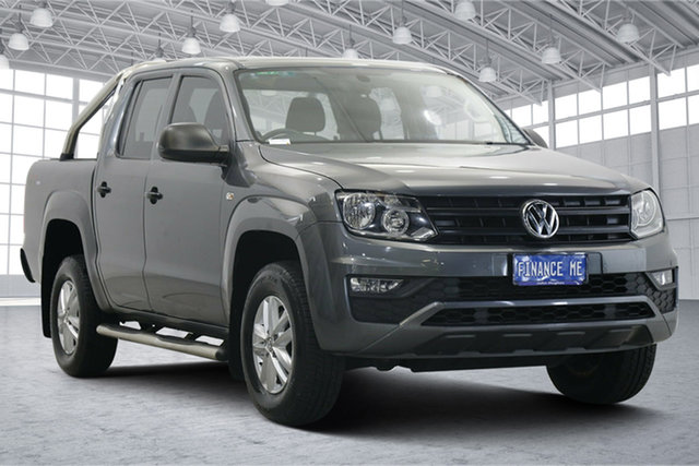 Used Volkswagen Amarok 2H MY17 TDI420 4MOTION Perm Core Victoria Park, 2017 Volkswagen Amarok 2H MY17 TDI420 4MOTION Perm Core Grey 8 Speed Automatic Utility