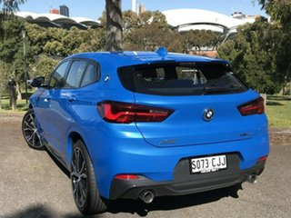 2020 BMW X2 F39 sDrive20i Coupe DCT Steptronic M Sport Blue 7 Speed Sports Automatic Dual Clutch
