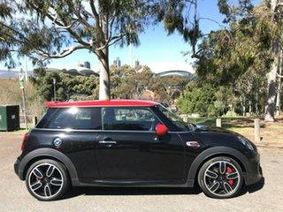 2018 Mini Hatch F56 LCI John Cooper Works Black 8 Speed Sports Automatic Hatchback.