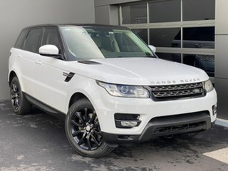 2015 Land Rover Range Rover Sport L494 16MY SE White 8 Speed Sports Automatic Wagon.
