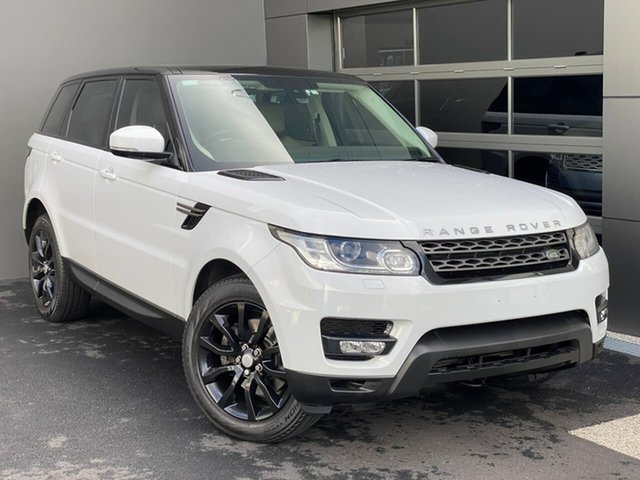 Used Land Rover Range Rover Sport L494 16MY SE Hobart, 2015 Land Rover Range Rover Sport L494 16MY SE White 8 Speed Sports Automatic Wagon
