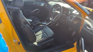 2012 Hyundai Veloster FS Coupe D-CT Yellow 6 Speed Sports Automatic Dual Clutch Hatchback