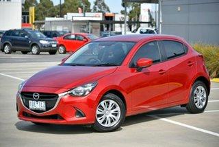2015 Mazda 2 DJ2HAA Neo SKYACTIV-Drive Red 6 Speed Sports Automatic Hatchback.