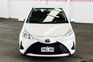 2020 Toyota Yaris NCP130R Ascent Crystal Pearl 4 Speed Automatic Hatchback