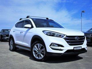 2017 Hyundai Tucson TLe MY17 Elite D-CT AWD White 7 Speed Sports Automatic Dual Clutch Wagon.