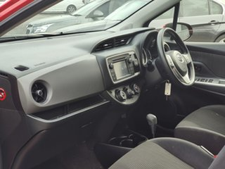 2016 Toyota Yaris NCP130R Ascent Red 4 Speed Automatic Hatchback