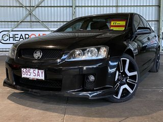 2006 Holden Commodore VE SS V Black 6 Speed Sports Automatic Sedan.