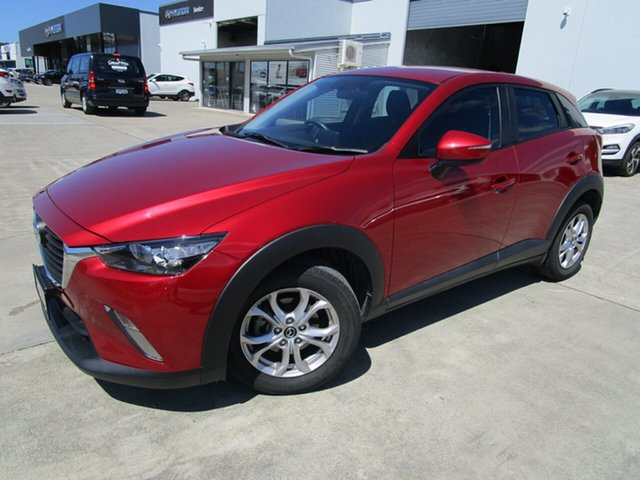 Used Mazda CX-3 DK2W7A Maxx SKYACTIV-Drive Caboolture, 2016 Mazda CX-3 DK2W7A Maxx SKYACTIV-Drive Red 6 Speed Sports Automatic Wagon