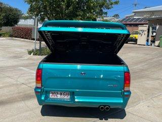 2007 Ford Falcon BF Mk II XR8 Ute Super Cab Green 6 Speed Manual Utility
