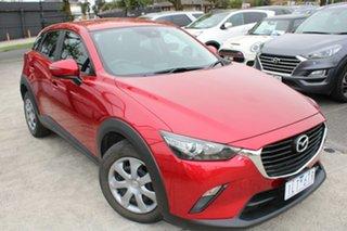2017 Mazda CX-3 DK2W76 Neo SKYACTIV-MT Red 6 Speed Manual Wagon.