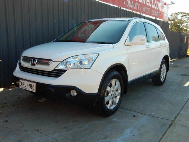 Used Honda CR-V RE MY2007 Luxury 4WD Blair Athol, 2007 Honda CR-V RE MY2007 Luxury 4WD White 5 Speed Automatic Wagon