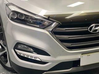 2017 Hyundai Tucson TLE2 MY18 Highlander D-CT AWD Platinum Silver 7 Speed.