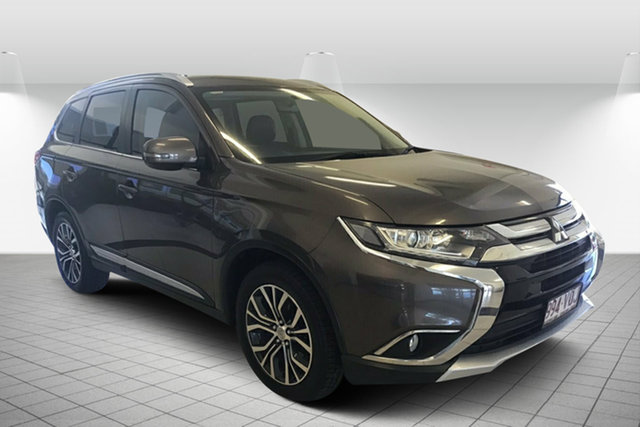 Used Mitsubishi Outlander ZK MY16 LS 2WD Maryborough, 2015 Mitsubishi Outlander ZK MY16 LS 2WD Bronze 6 Speed Constant Variable Wagon