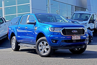 2021 Ford Ranger PX MkIII 2021.25MY XLT Blue 6 Speed Sports Automatic Double Cab Pick Up.
