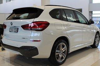 2020 BMW X1 F48 LCI sDrive18d Steptronic Alpine White 8 Speed Sports Automatic Wagon.