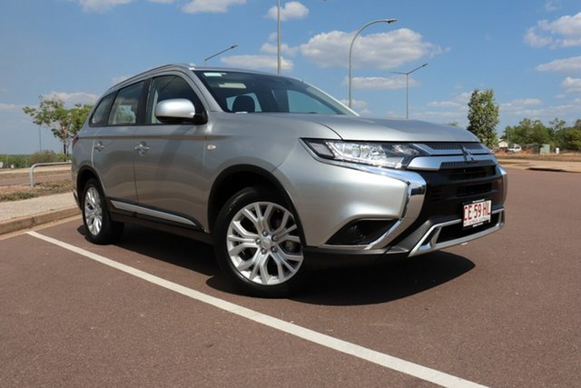 Pre-Owned Mitsubishi Outlander ZL MY19 ES AWD Palmerston, 2019 Mitsubishi Outlander ZL MY19 ES AWD Silver 6 Speed Continuous Variable Wagon