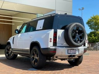2021 Land Rover Defender L663 21MY 110 P400 AWD SE White 8 Speed Sports Automatic Wagon
