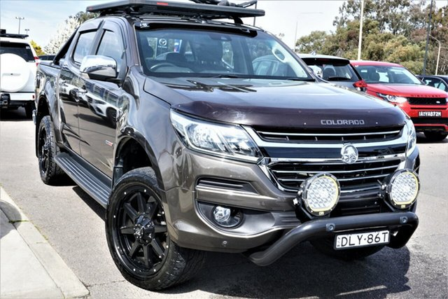 Used Holden Colorado RG MY17 LTZ Pickup Crew Cab Phillip, 2016 Holden Colorado RG MY17 LTZ Pickup Crew Cab Brown 6 Speed Sports Automatic Utility