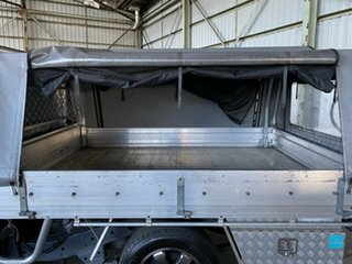 2013 Mazda BT-50 UP0YD1 XT 4x2 Silver 6 Speed Manual Cab Chassis