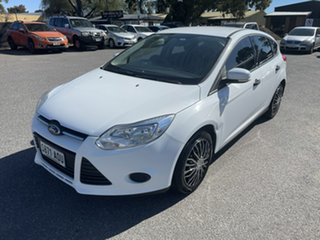 2011 Ford Focus LW Ambiente White 5 Speed Manual Hatchback.
