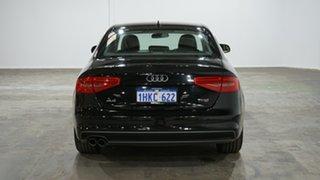 2014 Audi A4 B8 8K MY15 S Line Multitronic Black 8 Speed Constant Variable Sedan