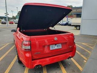 2015 Holden Ute VF II MY16 SS V Ute Redline Red 6 Speed Manual Utility