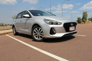 2019 Hyundai i30 PD2 MY19 Active Silver Mist 6 Speed Automatic Hatchback.
