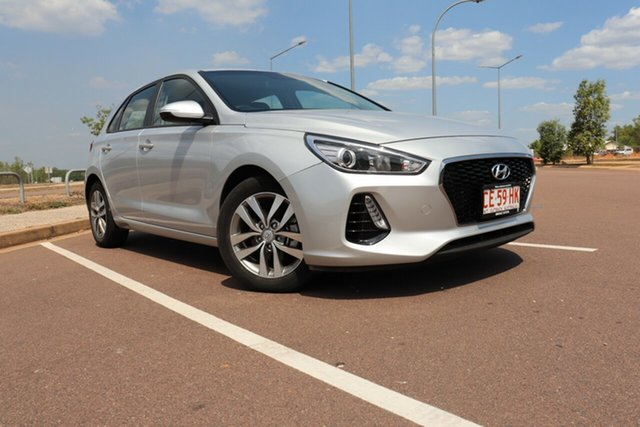 Pre-Owned Hyundai i30 PD2 MY19 Active Palmerston, 2019 Hyundai i30 PD2 MY19 Active Silver Mist 6 Speed Automatic Hatchback