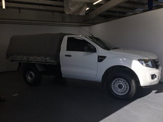 2014 Ford Ranger PX XL Hi-Rider White 6 Speed Manual Cab Chassis