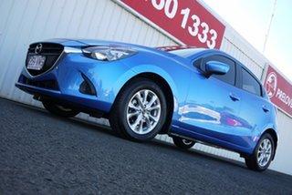 2014 Mazda 2 DJ2HAA Maxx SKYACTIV-Drive Blue 6 Speed Sports Automatic Hatchback.