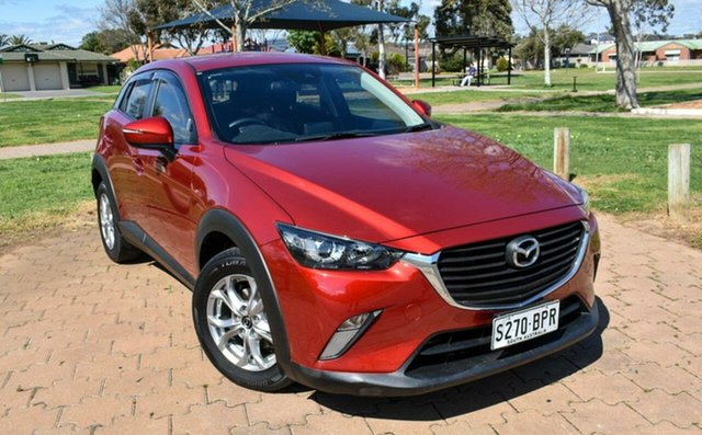Used Mazda CX-3 DK2W7A Maxx SKYACTIV-Drive Ingle Farm, 2017 Mazda CX-3 DK2W7A Maxx SKYACTIV-Drive Red 6 Speed Sports Automatic Wagon