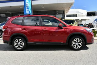 2018 Subaru Forester S5 MY19 2.5i CVT AWD Crimson Red 7 Speed Constant Variable Wagon