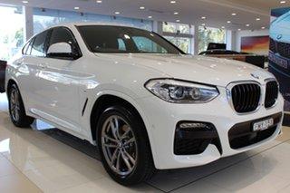 2020 BMW X4 G02 xDrive20i Coupe Steptronic M Sport Alpine White 8 Speed Automatic Wagon.