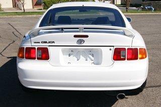 1998 Toyota Celica SX White 5 Speed Manual Liftback.