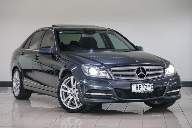 Used Mercedes-Benz C-Class W204 MY13 C250 CDI 7G-Tronic + Avantgarde , 2013 Mercedes-Benz C-Class W204 MY13 C250 CDI 7G-Tronic + Avantgarde Tenorite Grey 7 Speed