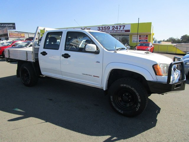 Used Holden Colorado RC MY11 LX Crew Cab Kedron, 2011 Holden Colorado RC MY11 LX Crew Cab White 5 Speed Manual Cab Chassis