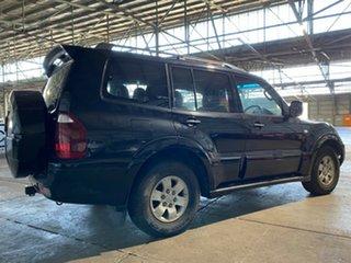 2004 Mitsubishi Pajero NP MY05 Exceed Black 5 Speed Sports Automatic Wagon