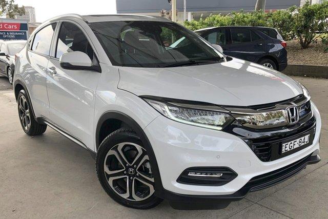 Used Honda HR-V MY20 VTi-LX Zetland, 2019 Honda HR-V MY20 VTi-LX Platinum White Continuous Variable Wagon